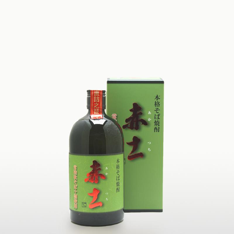本格そば焼酎 赤土(25%)
