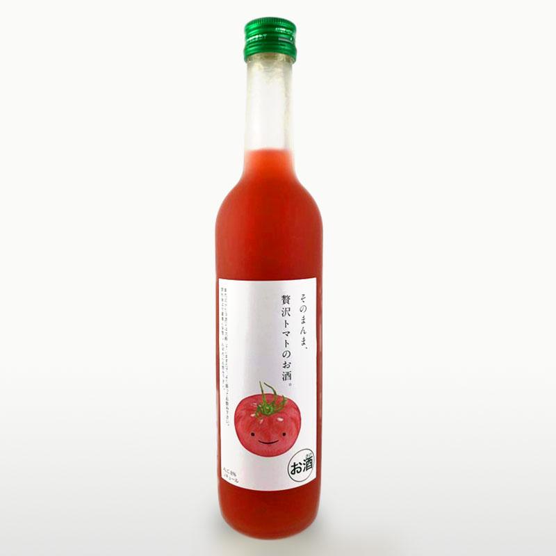 そのまんま贅沢トマトのお酒