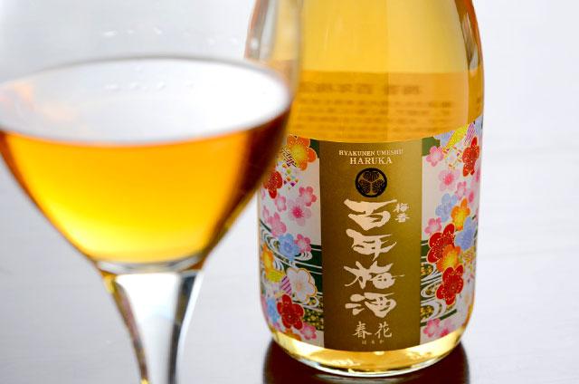 お待たせしました!梅酒ヌーボー「百年梅酒 春花(はるか)」販売開始