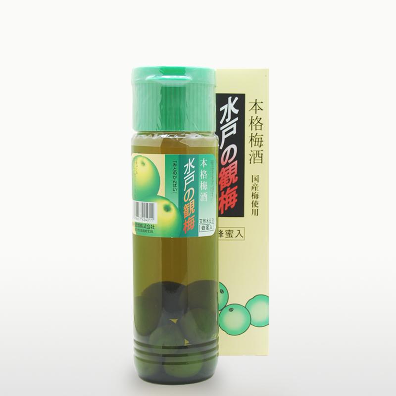 本格梅酒 水戸の観梅(梅実入り)