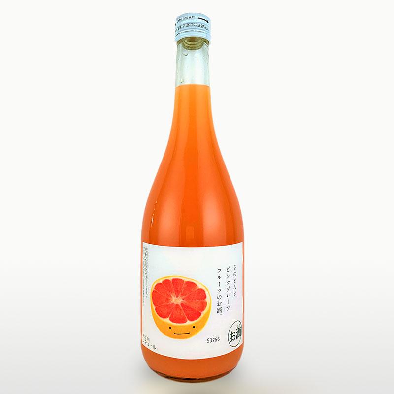 そのまんまピンクグレープフルーツのお酒 720ml