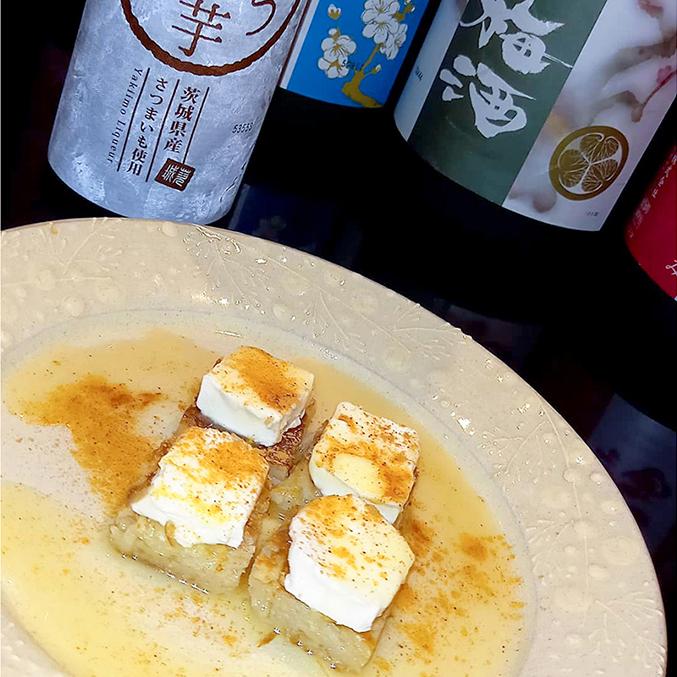 ロスティ・クリームチーズ with酔う焼き芋